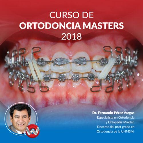 Curso de Ortodoncia Masters 2018