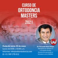 Curso de Ortodoncia Masters 2021